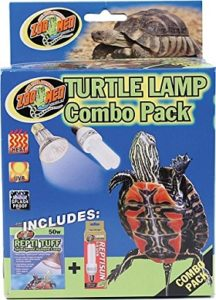 turtle uvb and heat lamp